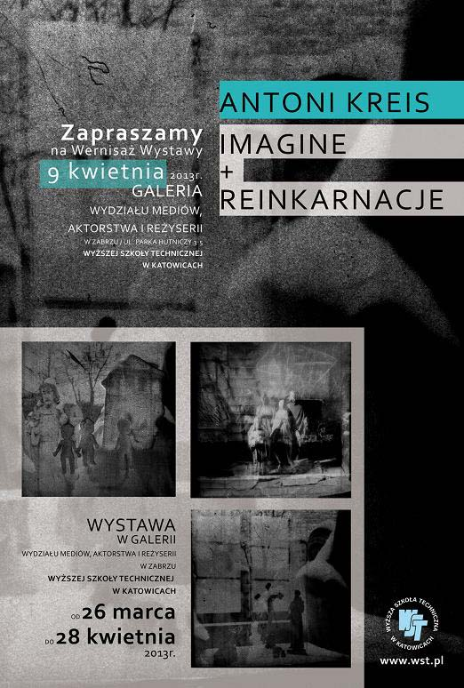 IMAGINE   REINKARNACJE- plakat