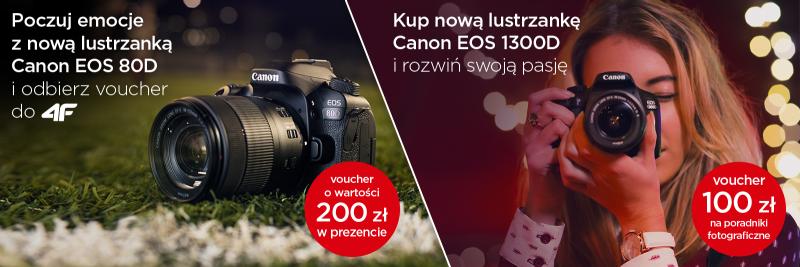 Canon - wiosenne promocje