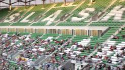 Stadion WKS ŚLĄSK WROCŁAW Otwarcie, pierwszy trening - Reportaż filmowy