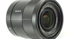 Sony E 24 mm f/1.8 ZA Carl Zeiss Sonnar T - Test obiektywu